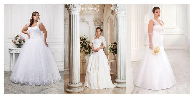 56918096ace44 أكبر مجموعة من فساتين زفاف الممتلئات موضة 2016
