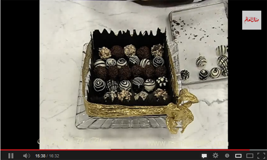 """طريقة عمل """"تروفل الفانيليا"""" من مطبخ منال العالم"""