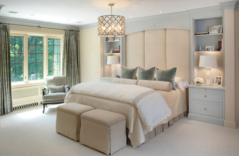 و أنيقة جداً . أجمل ديكورات غرف النوم .. تصميمات