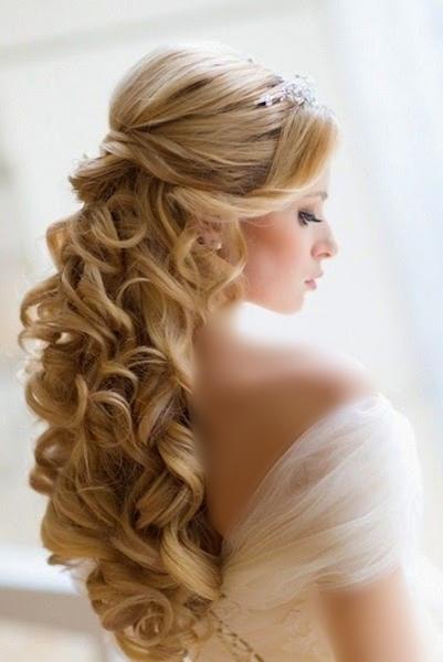 تسريحات شعر للعروس العاشقة للجمال والبساطة - مجلة ازياء | جمال و موضة المرأة