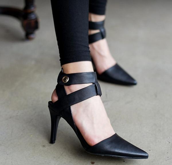 ba9f6ac83103b تألقي في سهرتك بأشيك أحذية بالكعب العالي