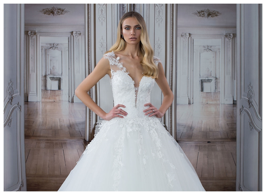 a3275657a2c2e فستان الأميرات لزفاف عروس 2017