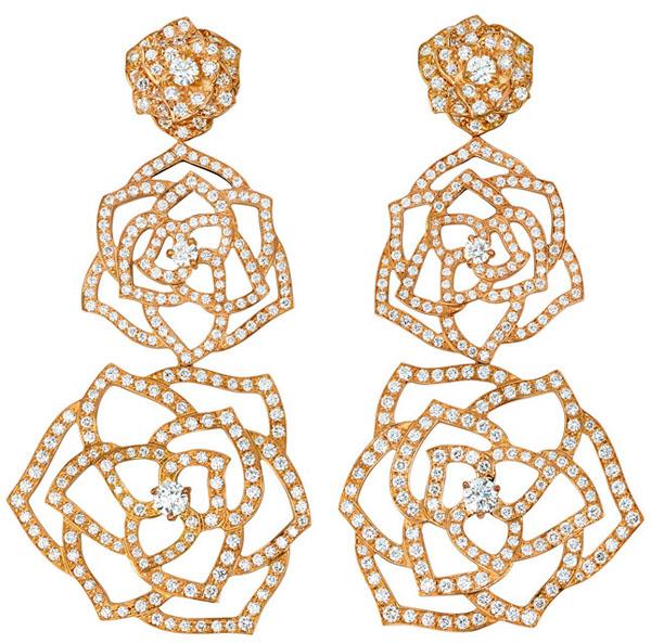 """""""ملكة الزهور"""" مجوهرات جديدة من بياجيه."""