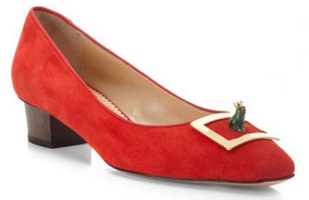 حذاء المدرسة والعمل من شارلوت أولمبيا خريف 2013
