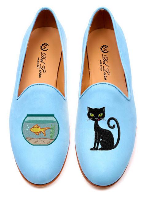 أحذية ديل تورو لربيع وصيف2014.