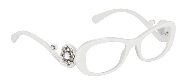 شاهدي النظارات المزخرفة لشتاء2014 من برادا.